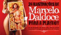 Exposição – 24 Ilustrações de MARCELO DALDOCE para a Playboy.