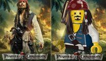 LEGO: cartazes de filmes
