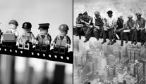 Fotos Famosas com Lego