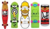 Skates dos Simpsons